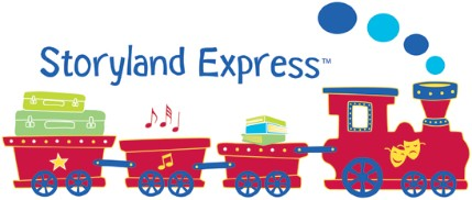 The Storyland Express departs from The Den every Wednesday